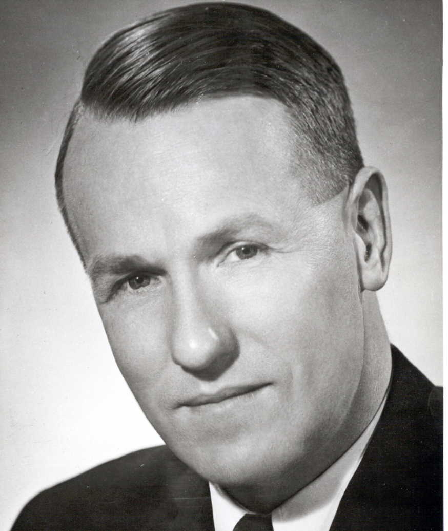 Lyle Wicks, M.L.A. for British Columbia, ca. 1952 (B.C. Government Photograph)